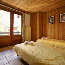 Chalet Nathalie Twin Bedroom