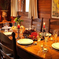 Chalet Petit Gibus Dining Table