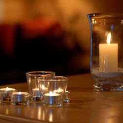 Candle light chalets