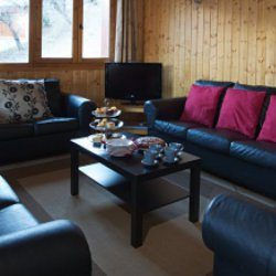 Chalet St Joseph Living Room