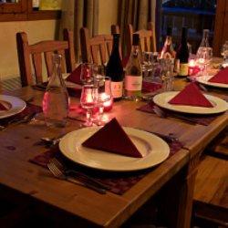 Chalet St Joseph Dining Room