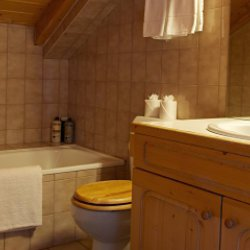 Chalet Bathroom with Bath