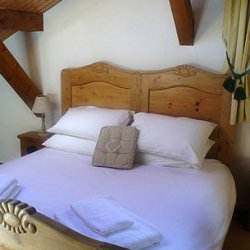 Chalet La Tarine Double Bedroom