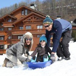 Chalet Violette Ski in/ski out