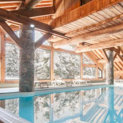Indoor Swimming Pool Chalet Violette