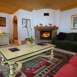 Chalet Quatre Meules Living Room