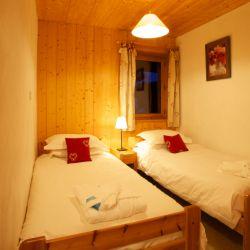 Chalet Sorbier En Suite Twin Room