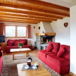 Chalet Rosalie Two Meribel Living Room