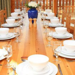 Chalet Covie Dining Room