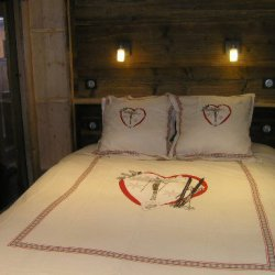 Double bedroom in apartment Arolaz 5 Meribel