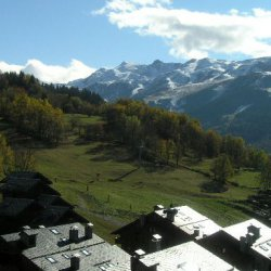 The view from apartment Fermes de Meribel 13 Meribel Village