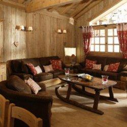 Chalet Trois Coeurs Living Area