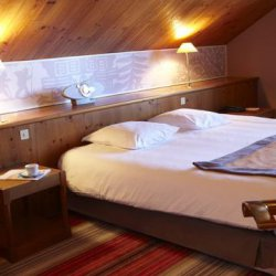 Bedroom at Club Med Meribel Le Chalet