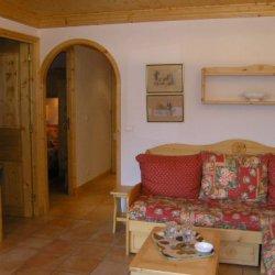 The living area in Apartment Grand Duc Meribel