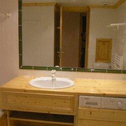 The bathroom in Apartment Grand Duc Meribel