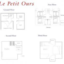 Chalet Le Petit Ours Floor Plan