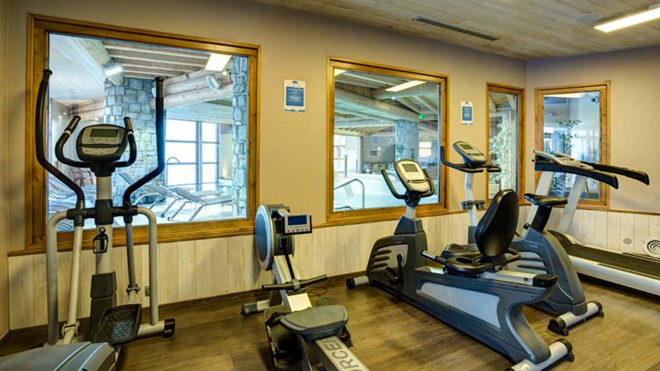 Chalet Abricot Gym