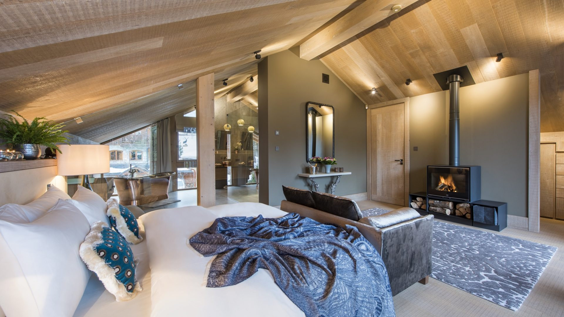 Chalet Alpaca Bedroom
