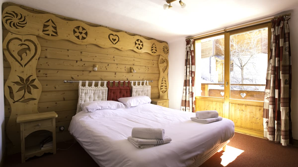 Chalet Daurel Double Bedroom
