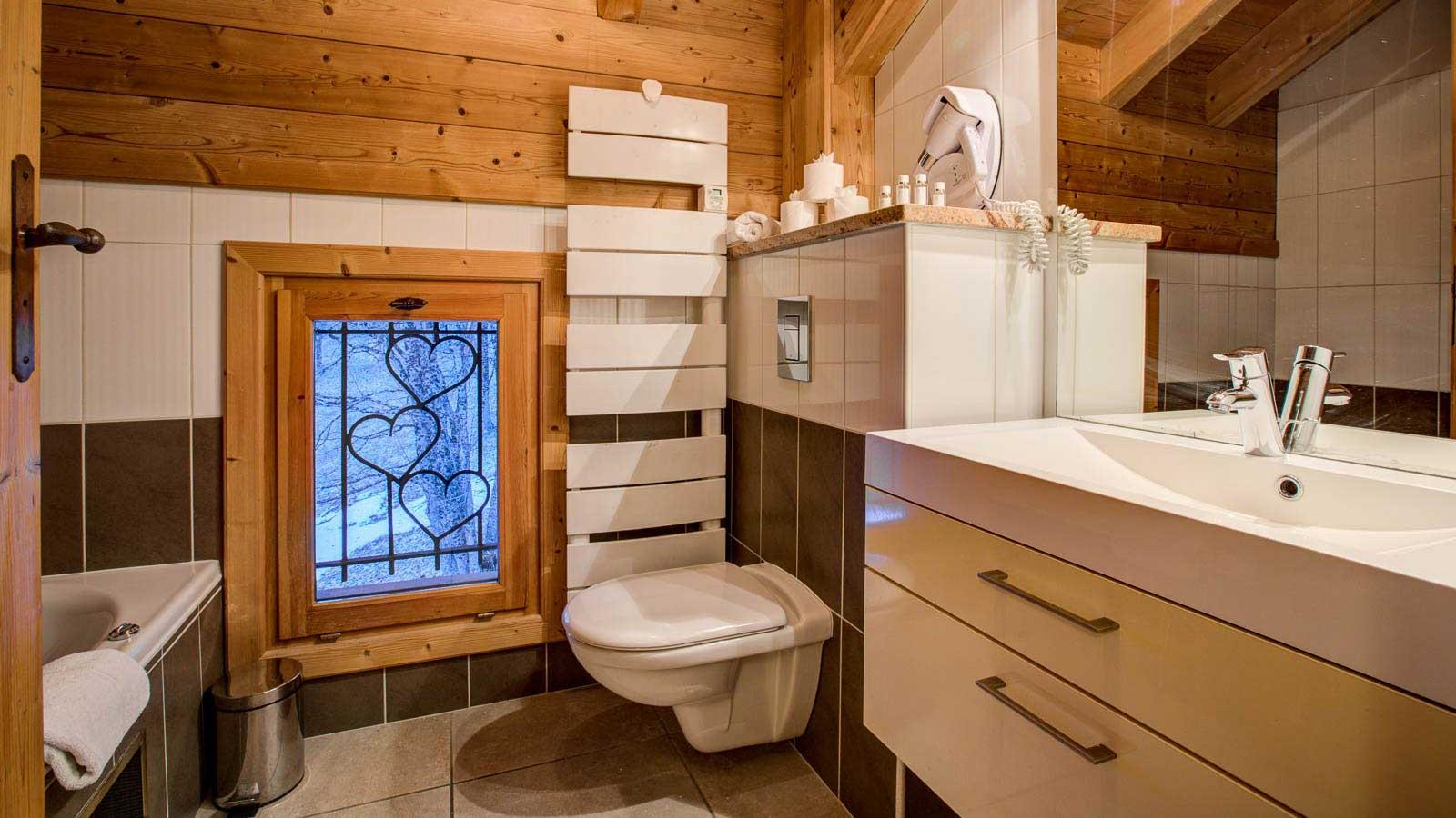 Chalet Laetitia bathroom