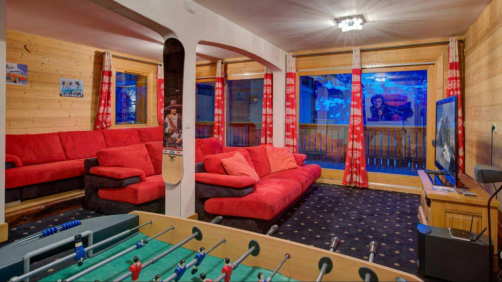 Chalet Laetitia Games Room