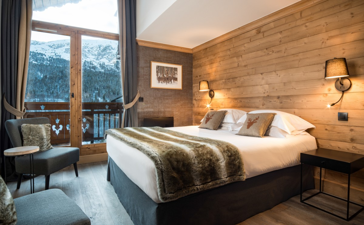 Chalet Phoebe Double Bedroom