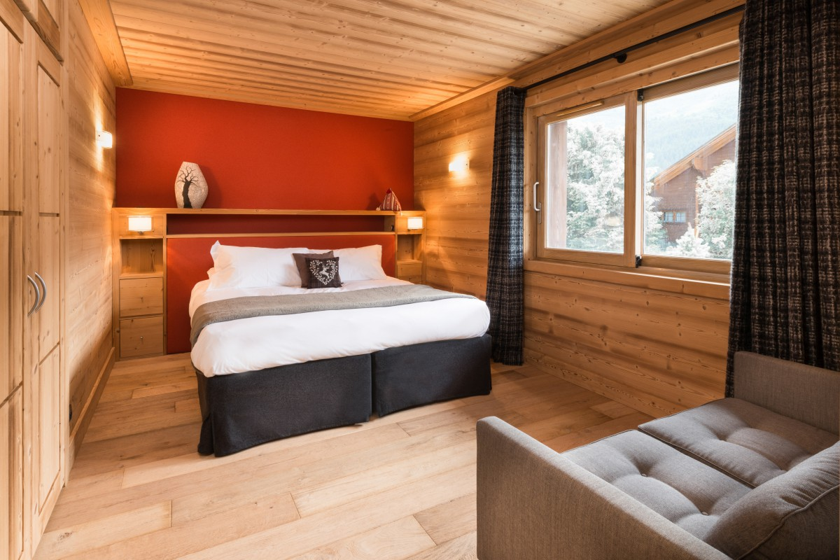 Chalet Le Pousse Caillou Double Bedroom
