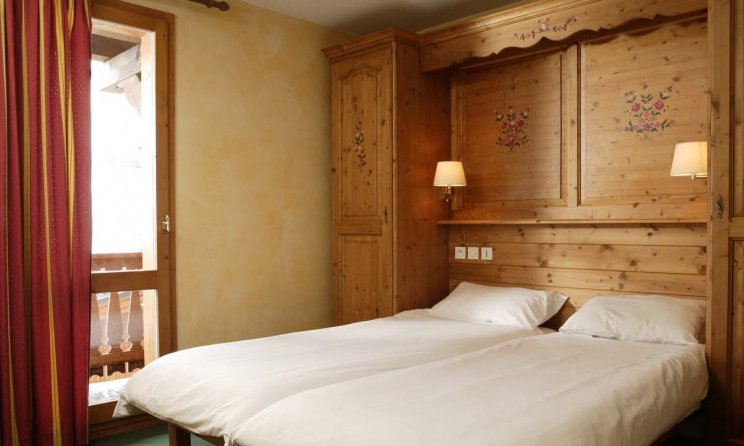 Chalet Carambole Twin Bedroom