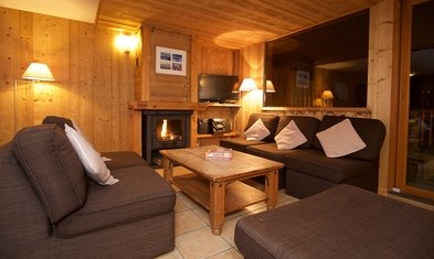 Chalet Delfina Living Room