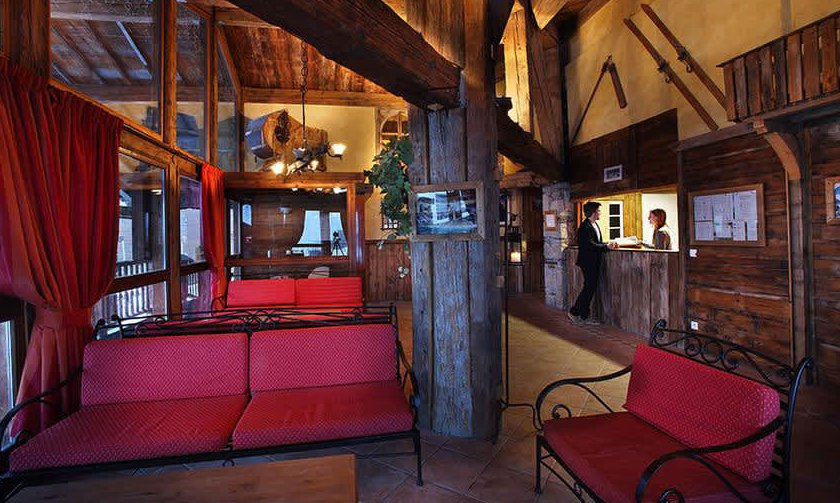Chalet Ibex Reception