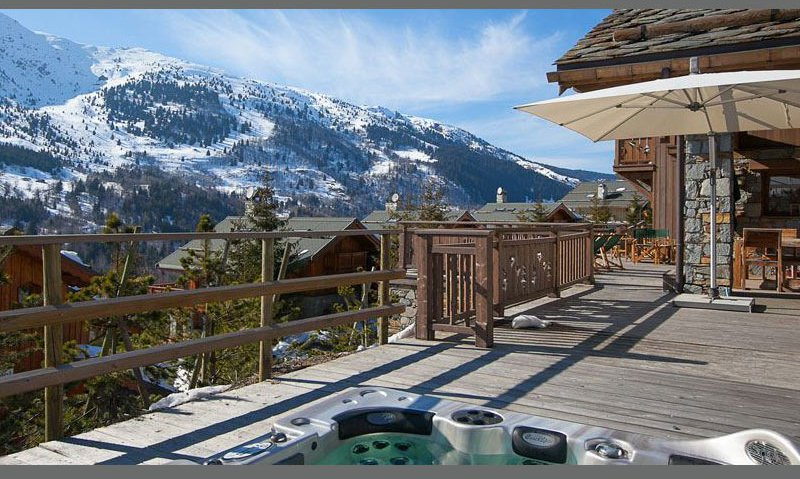Hot Tub and Chalet Decking