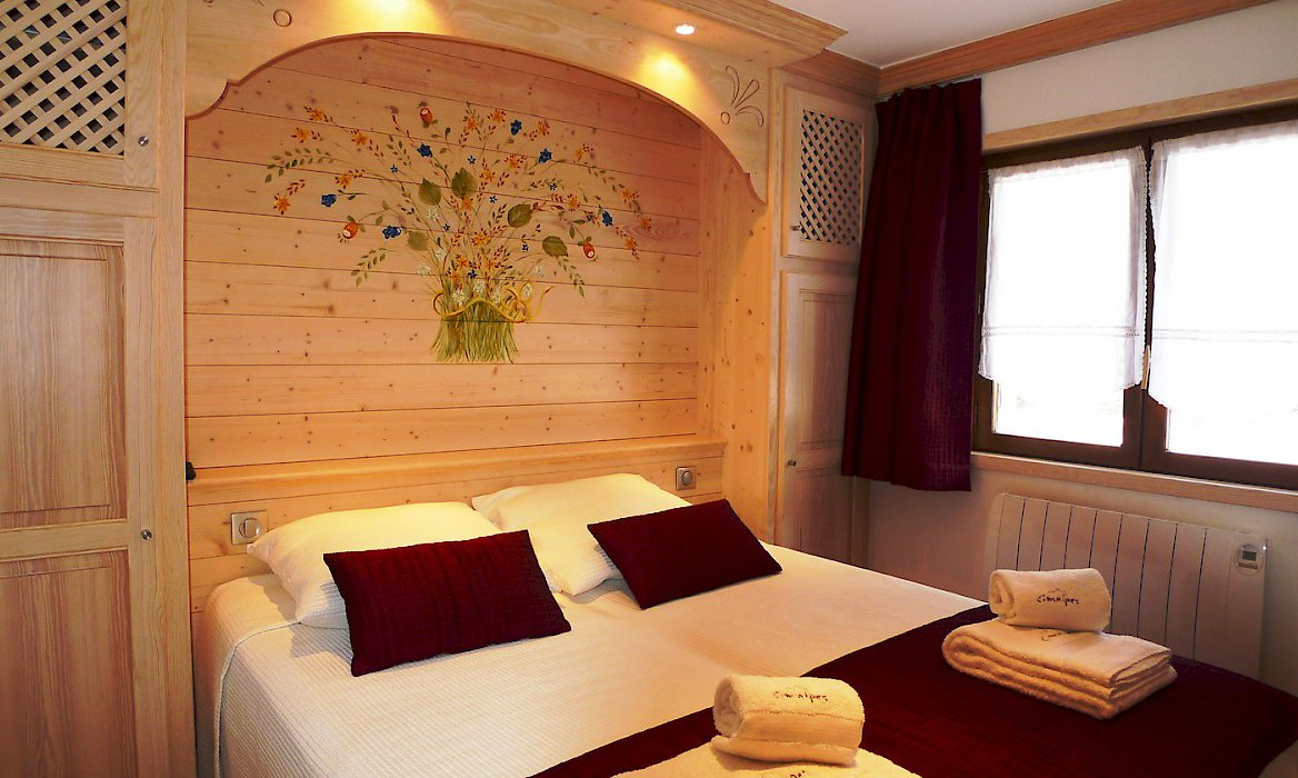 Comfortable bedroom in apartment Relais 1