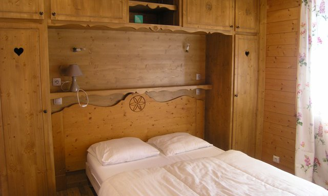 Bedroom in Chalet Morel in Meribel