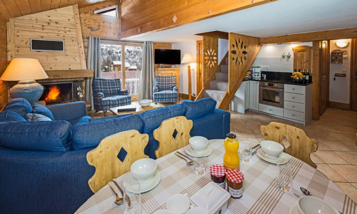 Chalet Chamois Living Area
