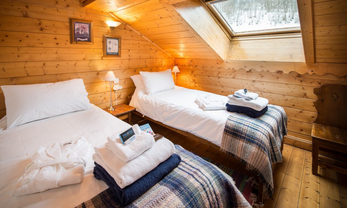 Chalet Chamois Twin Bedroom