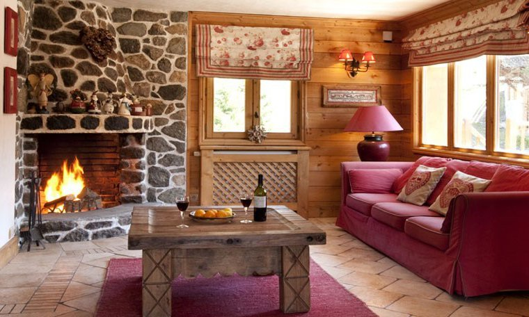 Cosy seating area in Club Chalet Pierre