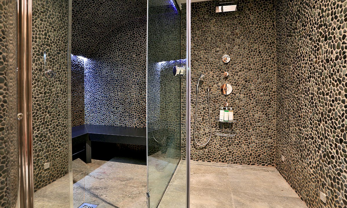 Steam Room and Wet Room