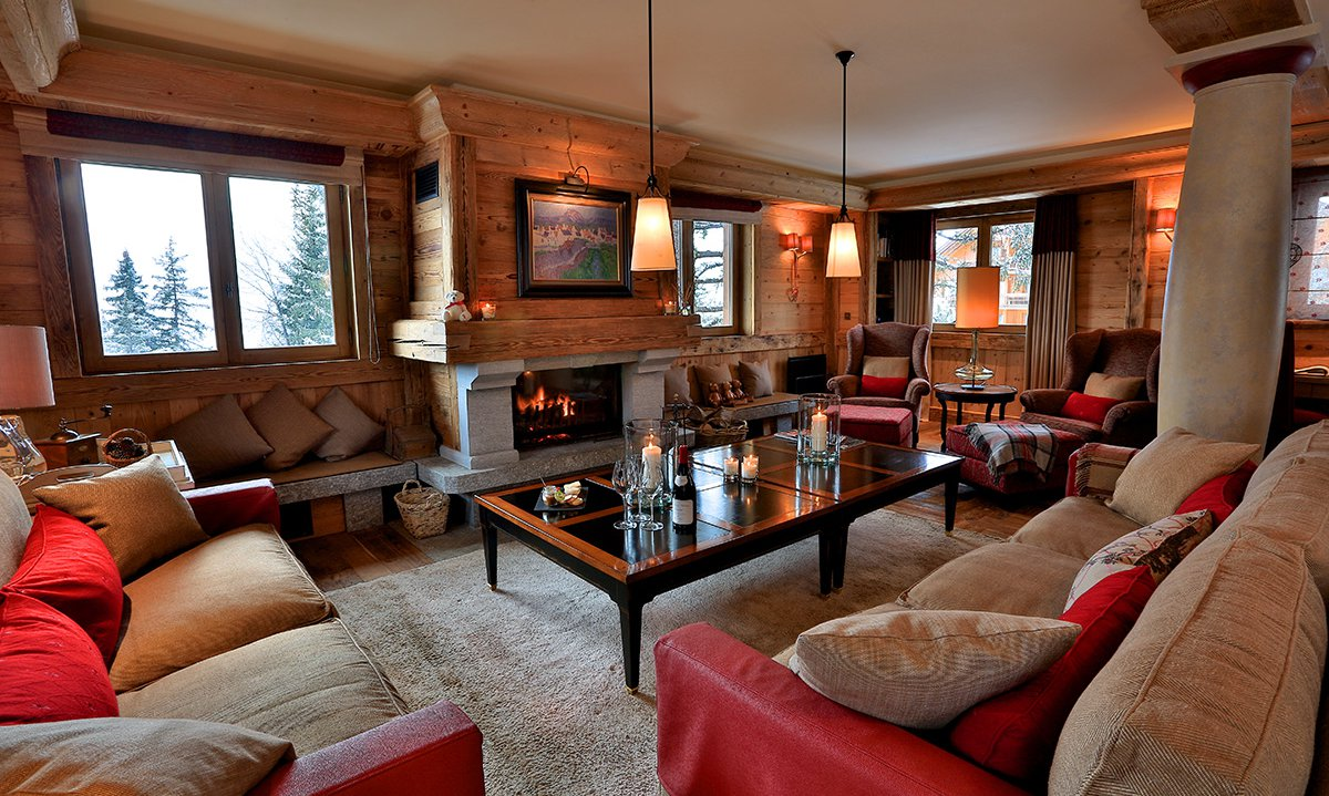 Cosy Sofas and Open Fire