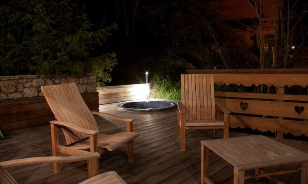 Luxurious Decking and Hot Tub