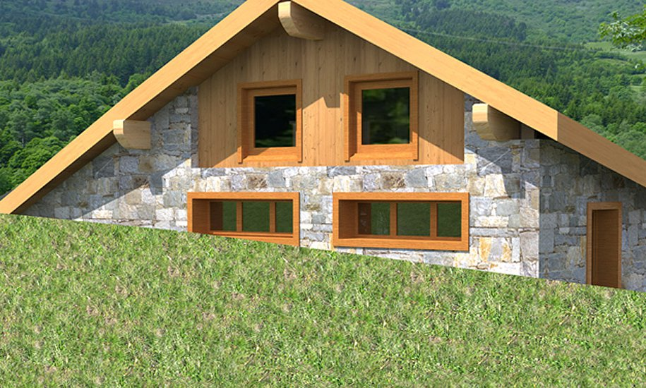 Chalet Chamois with En Suite Bedrooms