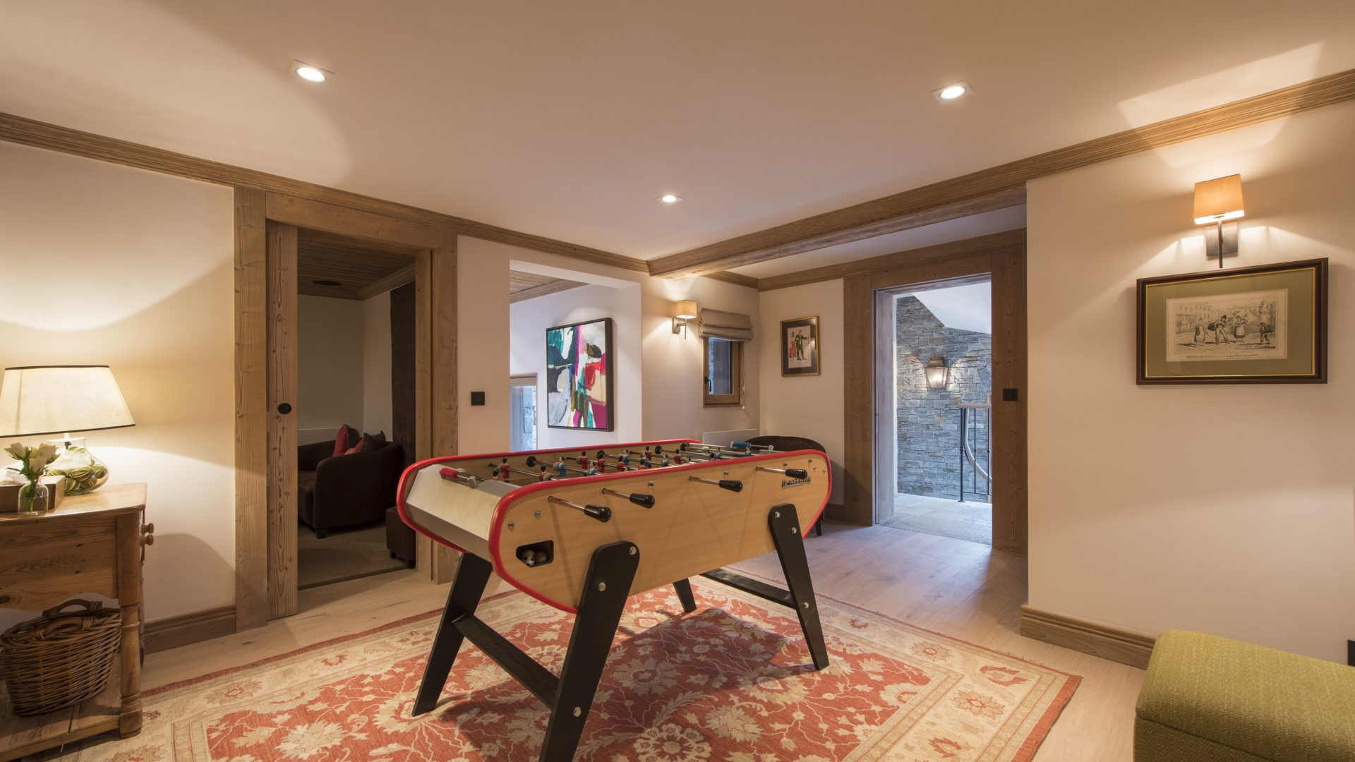 Chalet Valentine Table Football