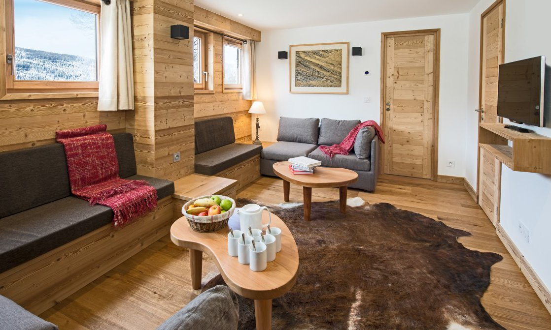 Chalet Arbe Living Room