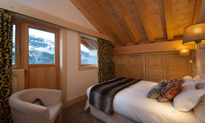Chalet Bellacima Double Bedroom