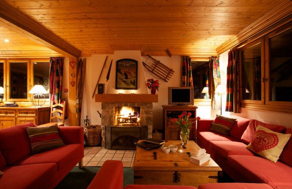 Chalet Bruyere Living Room