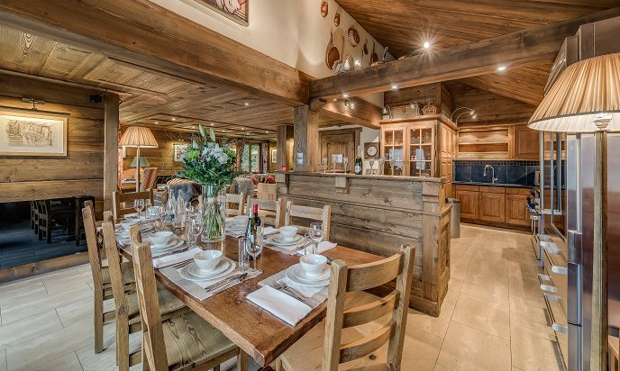 Chalet Chopine Dining Room