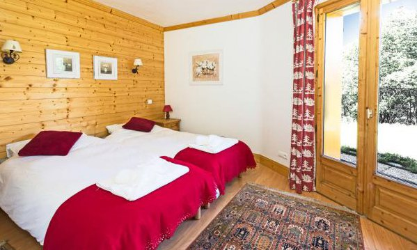 Chalet Evergreen Twin Room