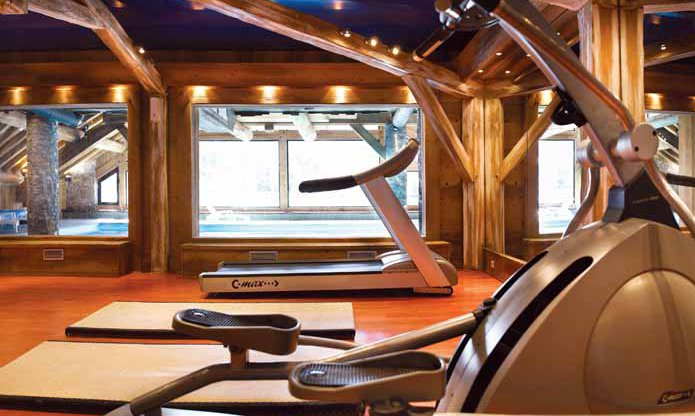 Fermes de Meribel Fitness Room