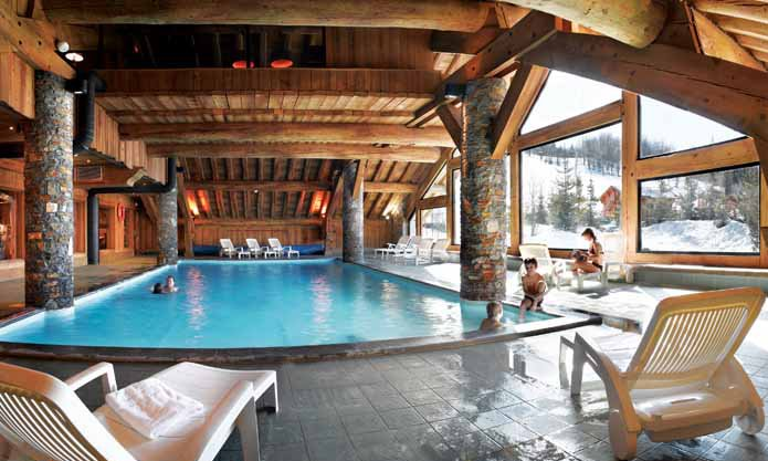 Fermes de Meribel Village Pool