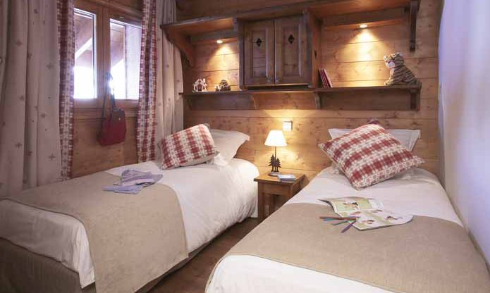 Fermes de Meribel Villages Twin Bedroom