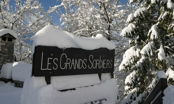 Les Grands Sorbiers in Snowy Meribel
